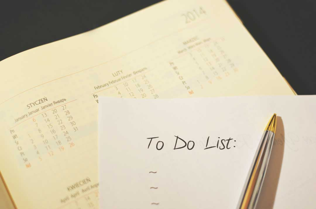 Making a to do list could improve your time management